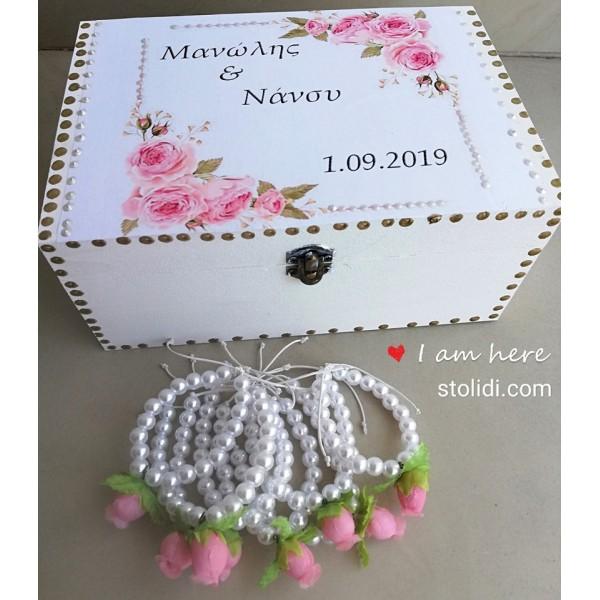 Bachelor bracelet  rose