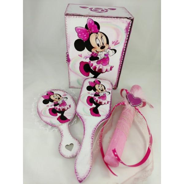 Σετ λαμπάδα με θέμα την Minnie