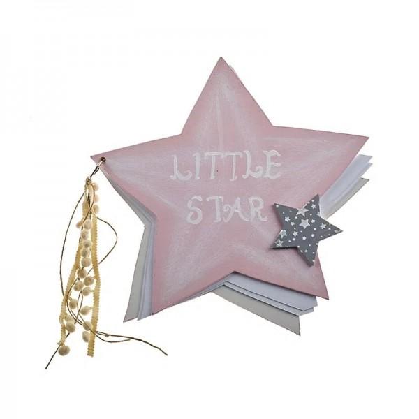 Ευχολόγιο αστέρι ροζ