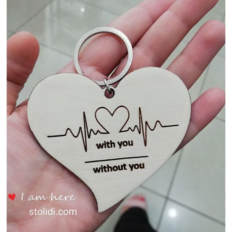 Μπρελοκ καρδιογράφημα